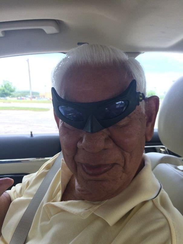 I Found Batman Glasses And Forgot I Left Them In My Grandpa