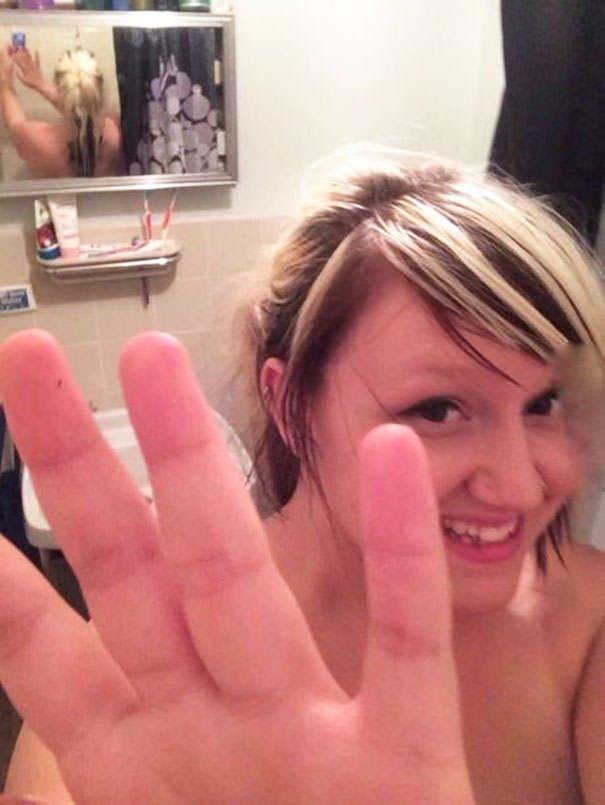 Aww My Boyfriend Is So Sweet! Sneaking In Shower Shots Of Me