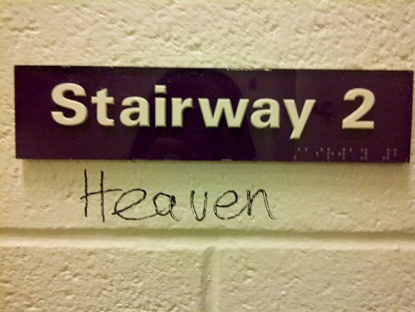 I Saw This Stairway At School... Did What I Had To Do
