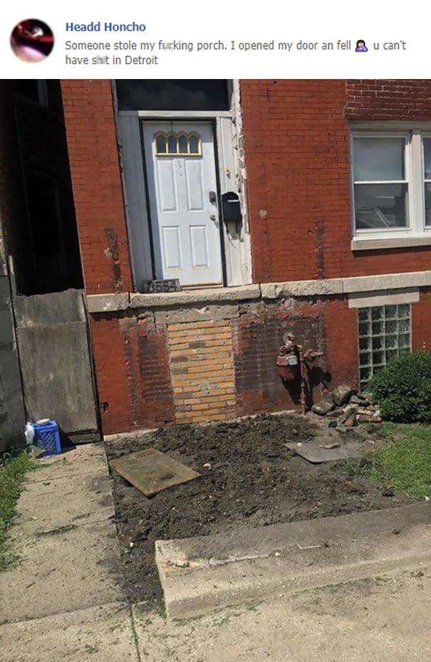 Stolen Porch