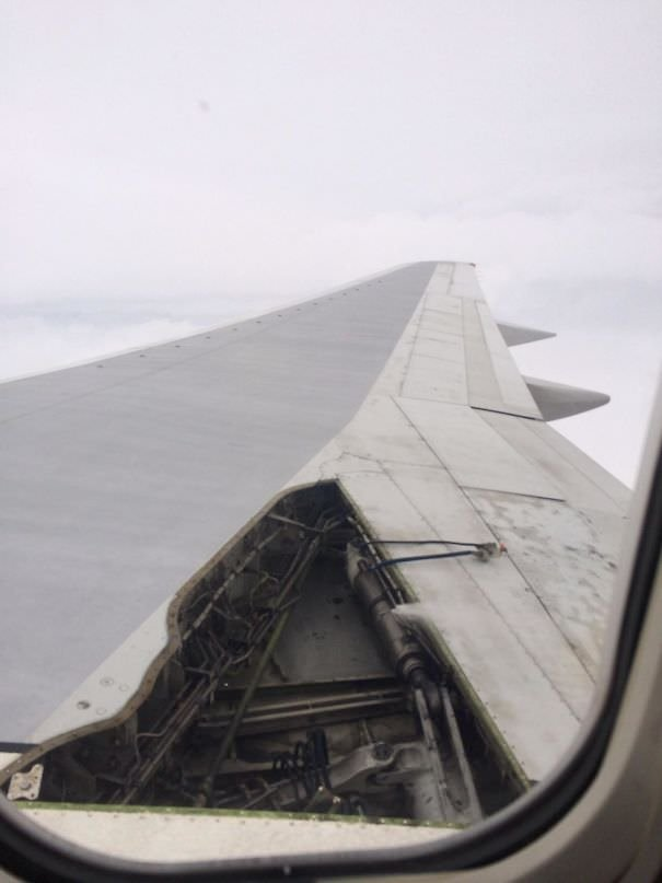 This Happened To The Plane Mid-Flight. The Whole Plane Shook And Our Collective Buttholes Puckered