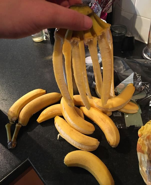 This Just Happened When I Took My Bananas Out Of A Bag