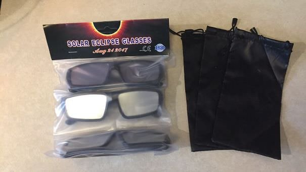 The Solar Eclipse Glasses I Ordered A Month Ago Finally Came! 4 Days After The Eclipse...