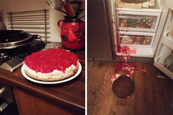 I Made A Beast Cheesecake And Then I Dropped It