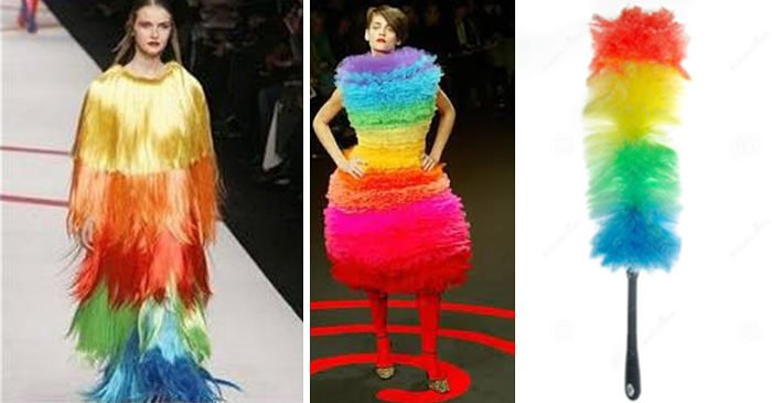 Feather Duster Fashion
