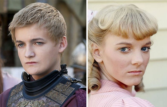 King Joffrey Looks Like Nellie Olsen