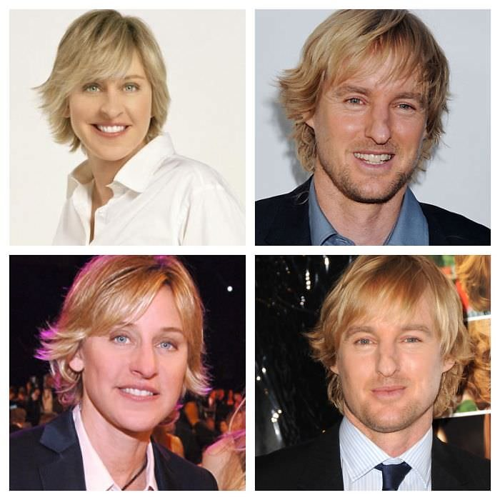 Ellen Degeneres Totally Looks Like Owen Wilson