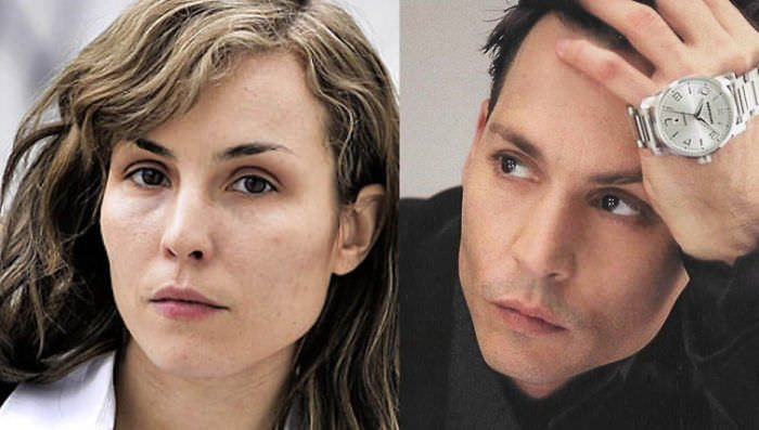 Noomi Rapace And Johnny Depp