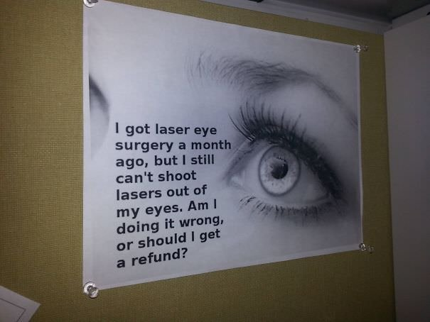 I Work In An Ent/Eye Clinic. One Of My Coworkers Had This At His Desk