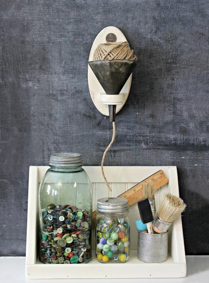 Upcycled Craft Station