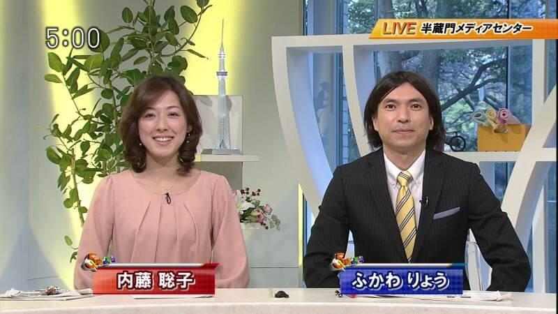 「内藤聡子 5時に夢中」の画像検索結果