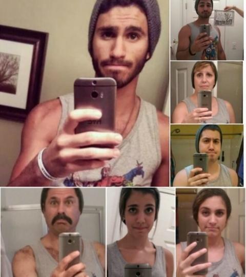 15 pais que imitaram as fotos dos filhos com perfeição... ou quase!