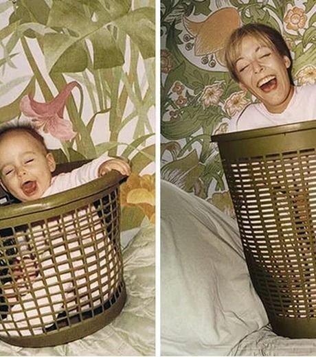 """25 melhores fotos de """"antes e depois"""" em família"""