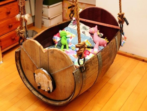 DIY cradle