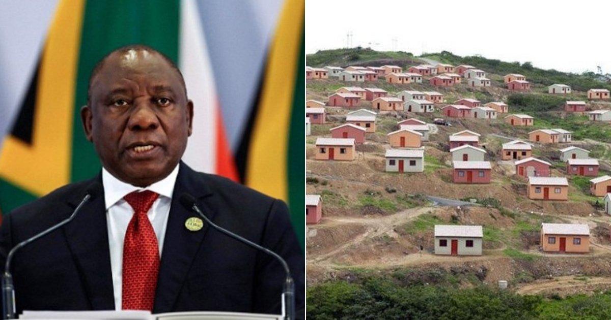 africa.jpg?resize=1200,630 - L'Afrique du Sud va saisir des centaines d'hectares de terres d'agriculteurs blancs pour construire des logements à loyer modéré