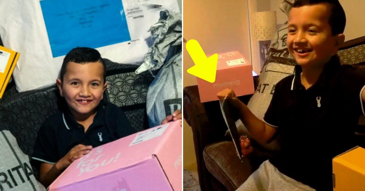 alfie6.png?resize=412,232 - Un garçon autiste de 8 ans reçoit plus de 3 000 cartes d'anniversaire du monde entier