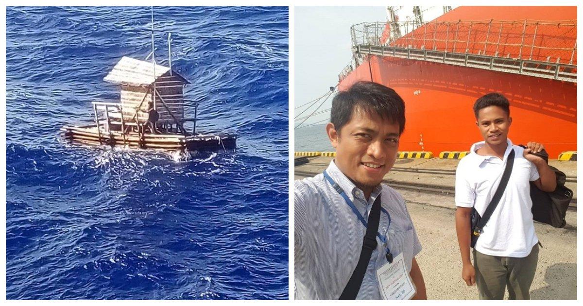 boat 1.jpg?resize=1200,630 - L'histoire incroyable d'un adolescent indonésien qui a réussi à survivre pendant 49 jours en mer