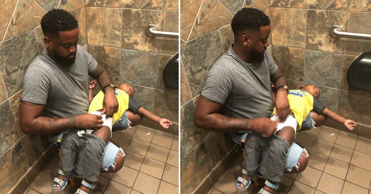 capa22l.png?resize=1200,630 - Pai faz campanha na internet pela instalação de trocadores em banheiros masculinos