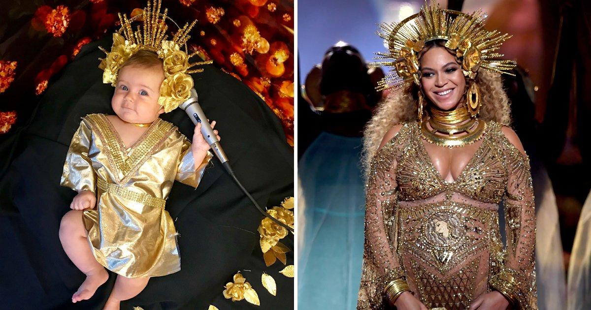 capa2k.png?resize=1200,630 - Mãe homenageia ícones femininos vestindo sua bebê igual a elas e o resultado é muito FOFO!