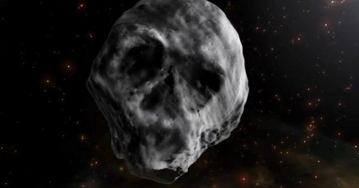 caveirapgn.png?resize=636,358 - Asteroide em formato de caveira passará próximo da Terra