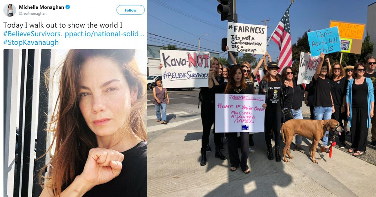 celebrities also joined the protest believe survivors and posted pictures and tweets with the hashtag.jpg?resize=636,358 - Celebrities Also Joined The Protest 'Believe Survivors' And Posted Pictures And Tweets With The Hashtag