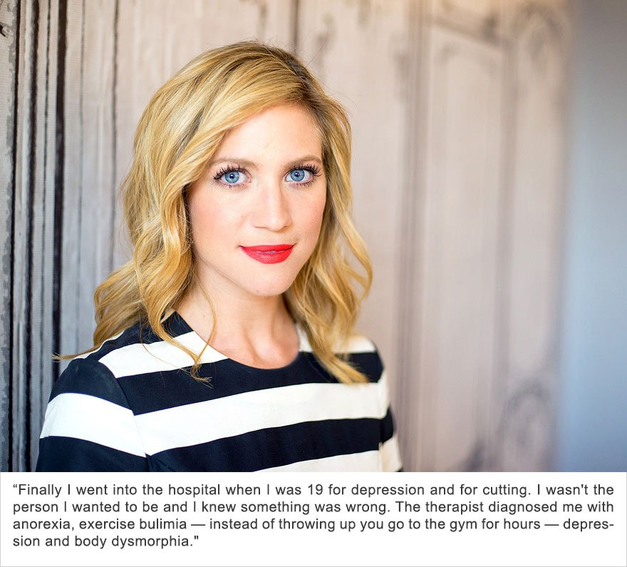 Brittany Snow, Depression, Body Dysmorphia And Eating Disorders