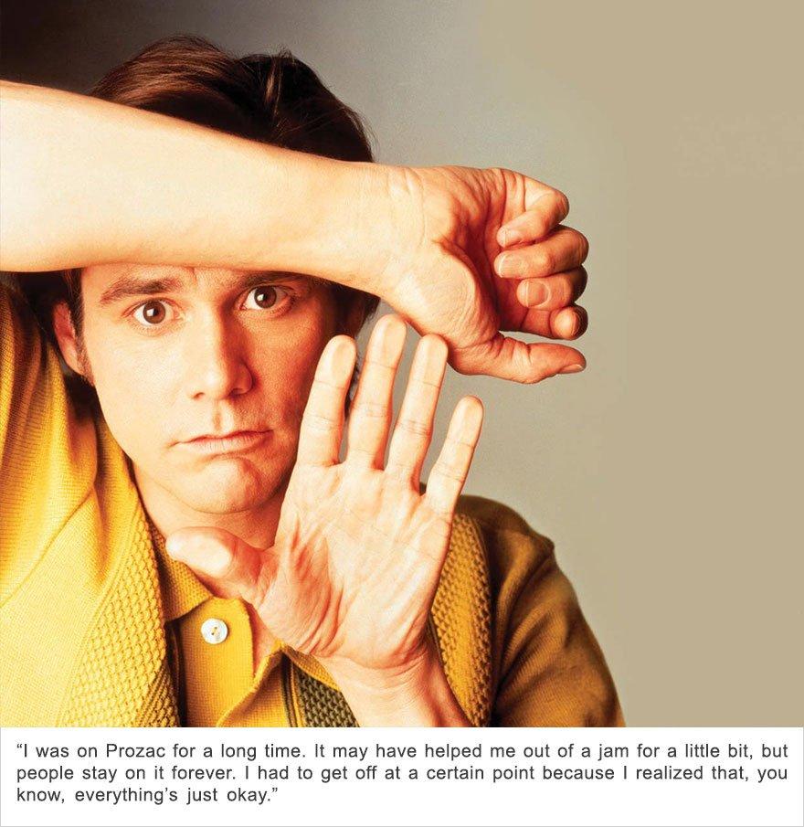 Jim Carrey, Depression