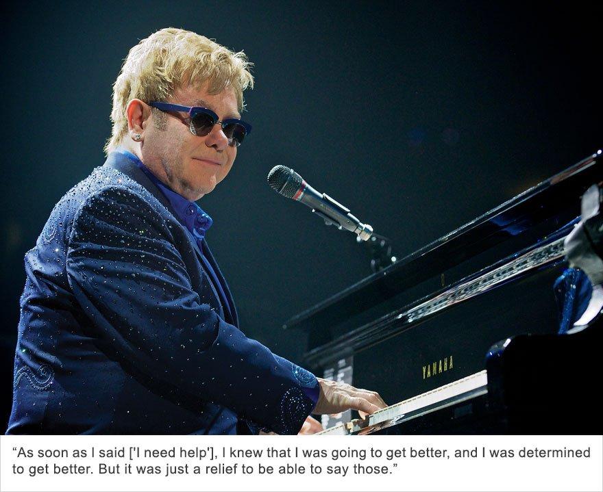 Elton John, Bulimia