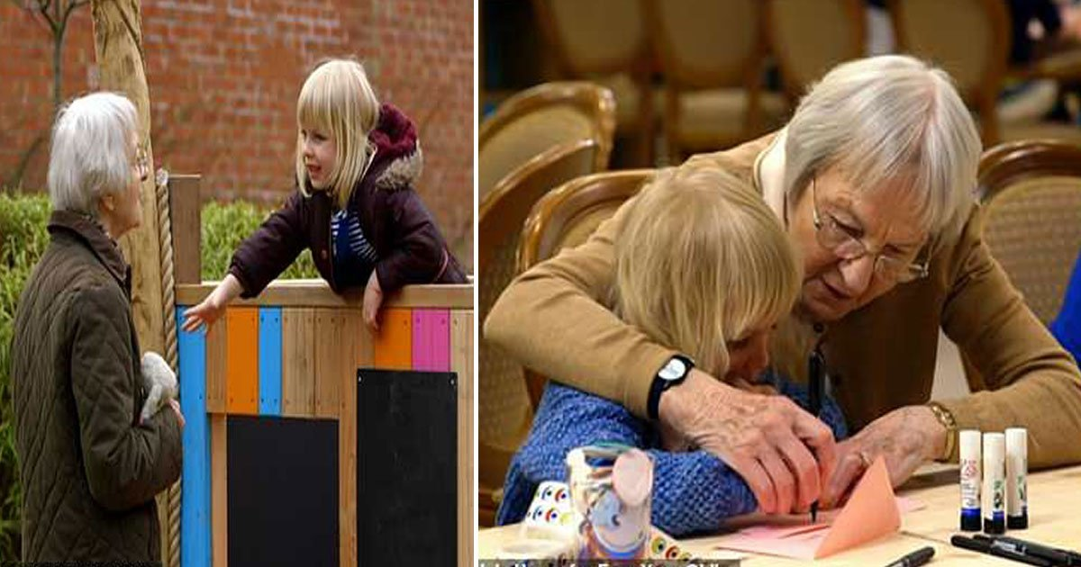 channel 4 show.jpg?resize=300,169 - Four-Year-Old Revealed She Lost Her Mother To Cancer To Her New 86-Year-Old Friend During Channel 4 Show Old People's Home For Four-Year-Olds