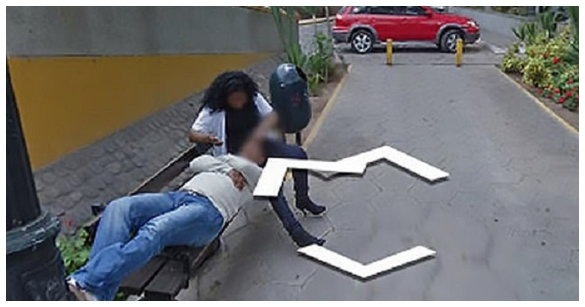 cheat.jpg?resize=1200,630 - BUSTED! Husband Catches Wife Cuddling With Another Man Thanks To Google Maps Street View