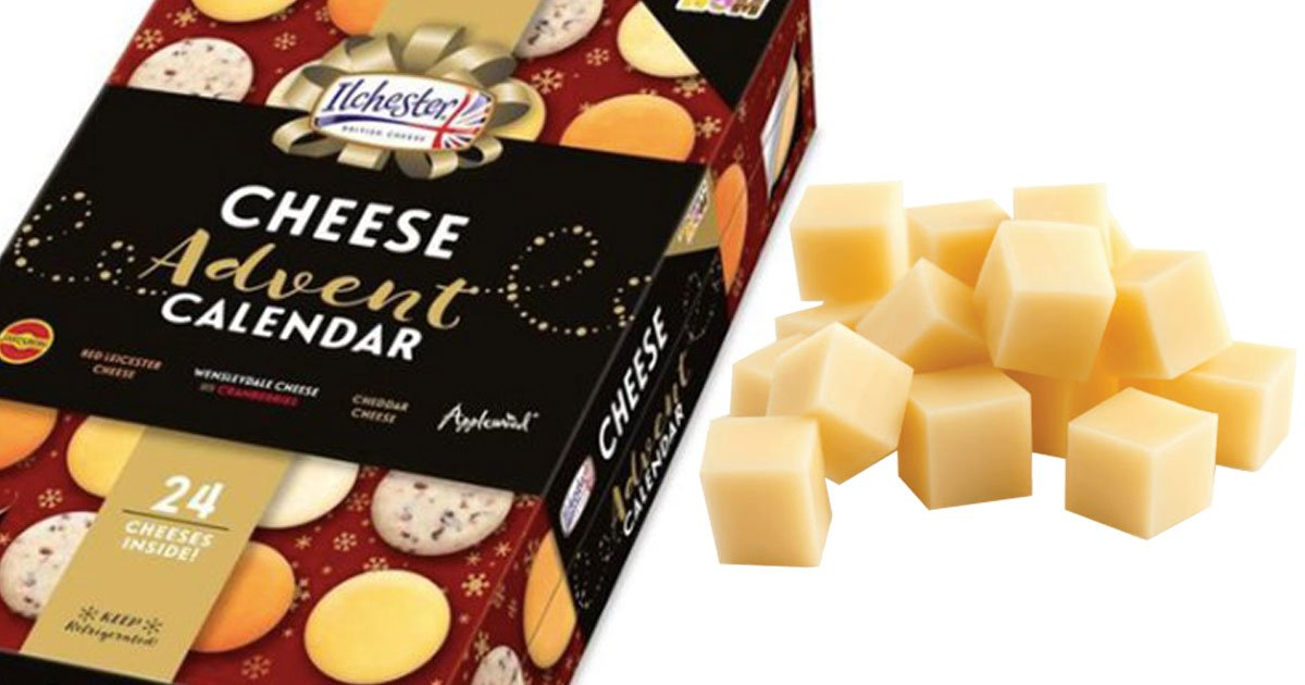 cheese advent calendar.jpg?resize=636,358 - Sainsbury's Launching A £10 Cheese Advent Calendar For Christmas