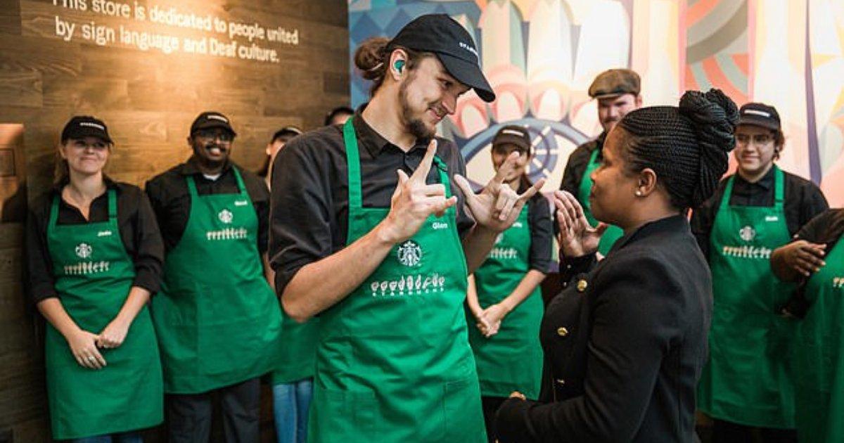 d6 1.png?resize=1200,630 - Ouverture du premier Starbucks capable de parler en langue des signes à Washington DC