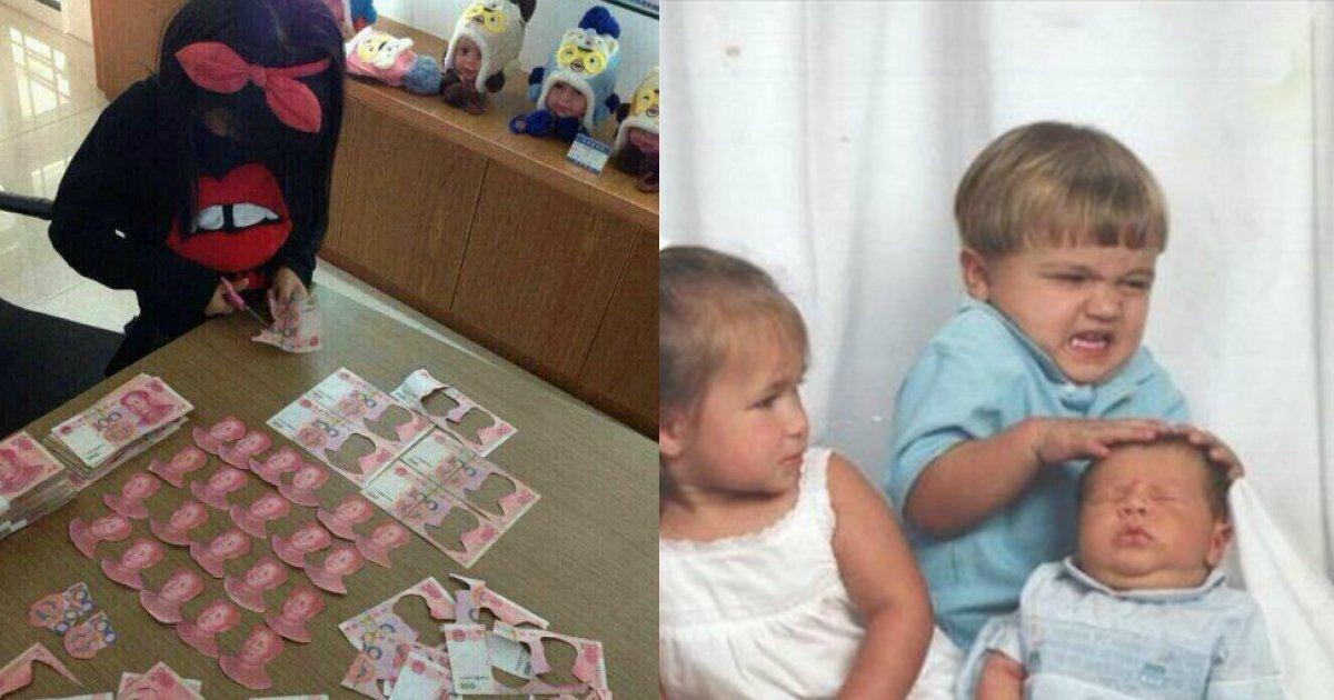 dddddd.jpg?resize=1200,630 - Plus de 20 photos prouvant que les enfants sont une source inépuisable de divertissement
