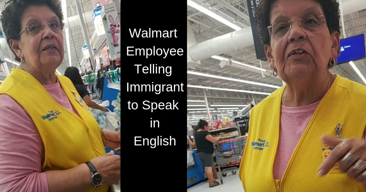 divya2 10.png?resize=1200,630 - Walmart Employee Telling a Customer in Fluent Spanish to Speak in English as We're in Texas