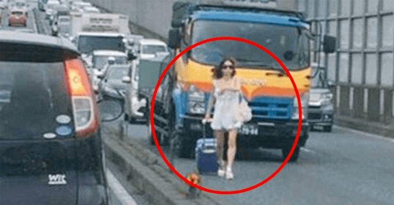 eyecatch 2.png?resize=1200,630 - DQN女が千葉県の国道を歩く…大渋滞を起こしてドライバーが大激怒!!!その結果…