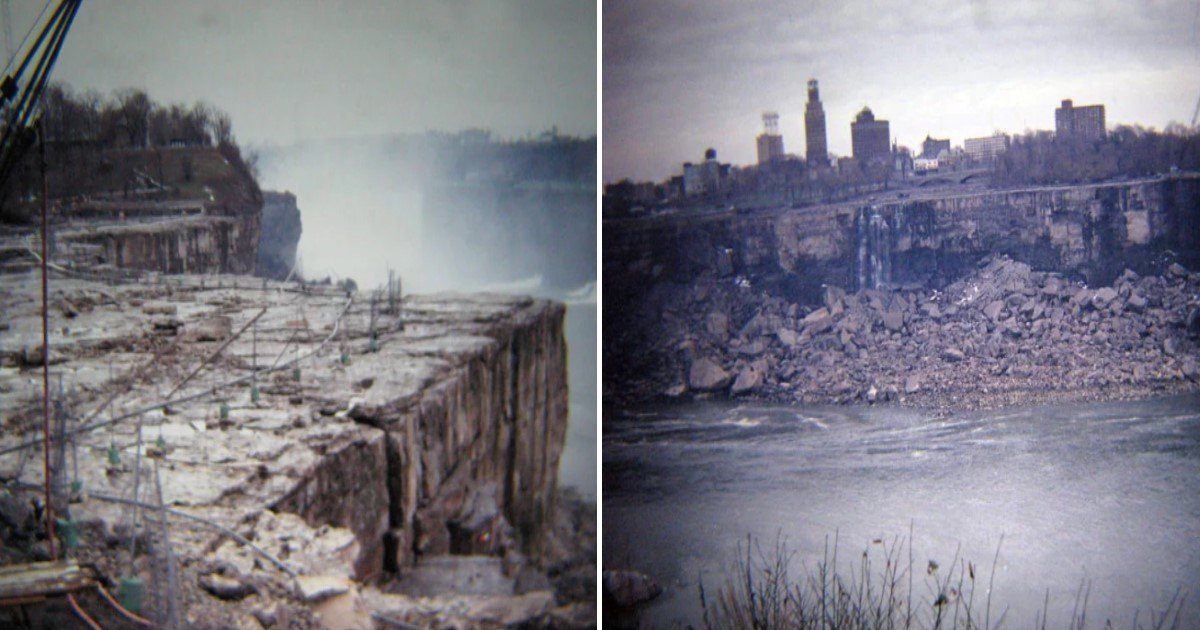 featured image 21.jpg?resize=412,232 - Here's What The Army Found When They STOPPED The Water Flow At Niagara Falls