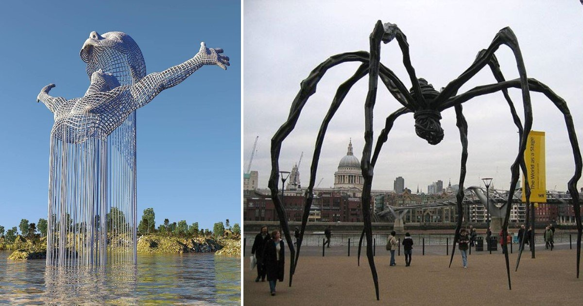 featured image 38.jpg?resize=412,232 - Plus de 10 sculptures trop créatives pour appartenir à ce monde