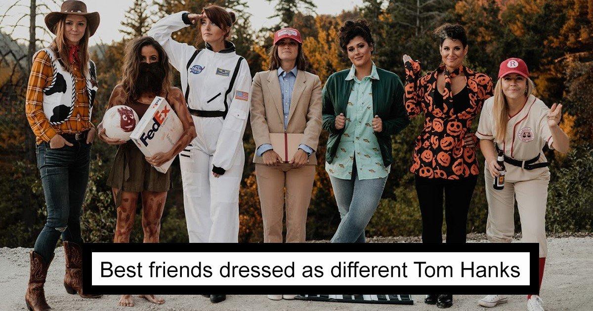 featured image 61.jpg?resize=412,232 - Chaque année, ces amies se déguisent en une différente version de la même célébrité et leurs costumes sont bluffants !