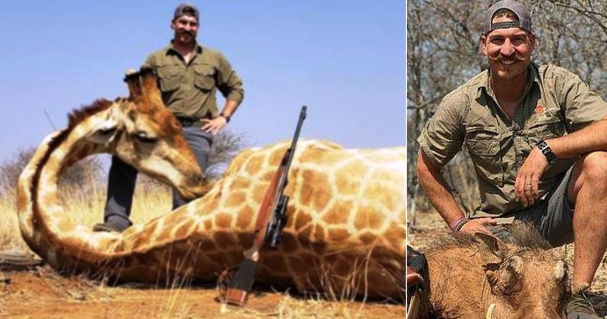 fischer5.png?resize=300,169 - Wildlife Official Is Slammed After He Proudly Posed For Photos With More Than 14 Dead Animals He Killed