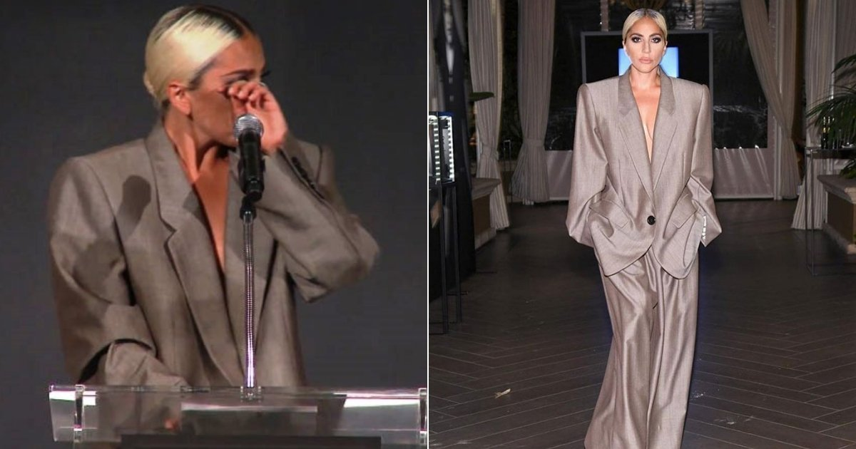 gaga6.jpg?resize=300,169 - People Laughed At Lady Gaga's Red Carpet Outfit UNTIL She Explained Why She Wore It