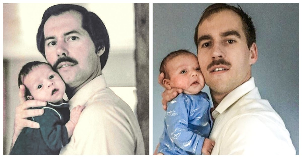 genes.jpg?resize=1200,630 - 20 Heartwarming Family Photos That Prove Genes Can Work Wonders