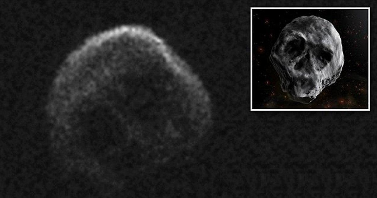 """gug.png?resize=412,232 - """"El cometa de la muerte"""", el asteroide en forma de cráneo pasará por la Tierra después de Halloween"""