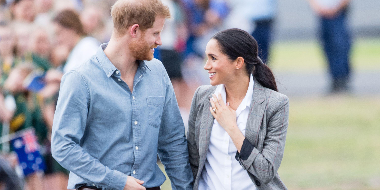 hbz prince harry meghan markle 1052321920.jpg?resize=412,275 - Vídeo super FOFO mostra príncipe Harry falando sobre a gravidez de Meghan pela primeira vez