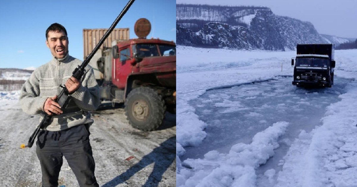 """img 5bd0f37d31351.png?resize=300,169 - """"약한자는 살아남을 수 없다"""" 시베리아 트럭 운전사들의 흔한 일상"""