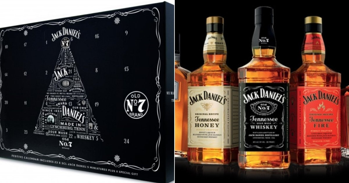 jd.jpg?resize=1200,630 - Jack Daniel's Releases New Advent Calendar Containing 1.5L Of Whiskey For Christmas