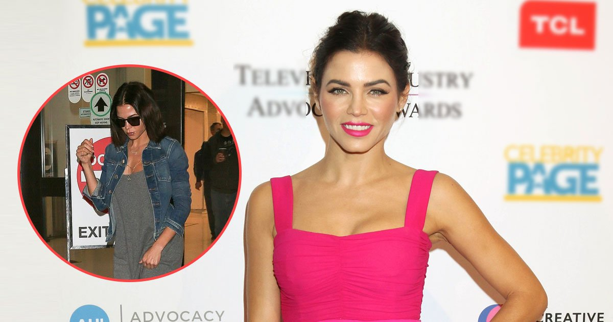 jenna dwan.jpg?resize=1200,630 - Jenna Dewan Spotted At Lax After Officially Filing For Divorce From Channing Tatum