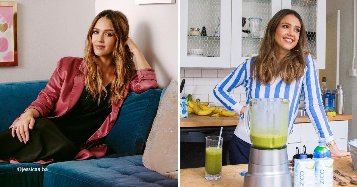 jess.jpg?resize=412,232 - Esta es la dieta que ayudó a Jessica Alba a perder 27 centímetros de su cintura en solo seis semanas