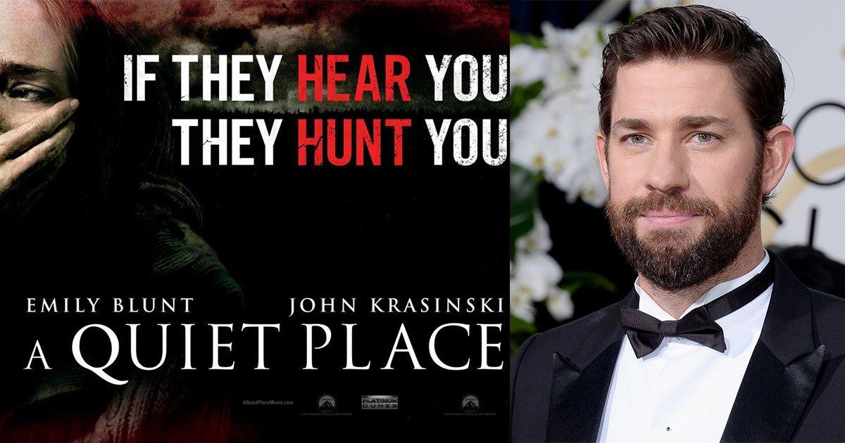 john krasinski starts writing a quiet place sequel.jpg?resize=412,232 - John Krasinski Starts Writing 'A Quiet Place' Sequel