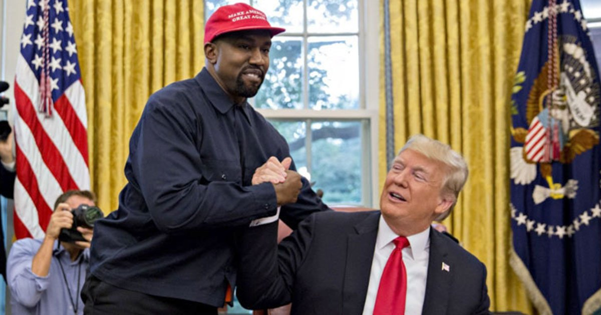 kanye wests 10 minute oval office rant steals the spotlight and trump calls him a terrific guy.jpg?resize=1200,630 - Kanye West's 10 Minute Oval Office Rant Steals The Spotlight And Trump Calls Him A 'Terrific Guy'
