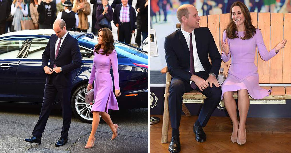 kate william.jpg?resize=1200,630 - The Duke And Duchess Of Cambridge Recycled Their Outfits For Their First Official Engagement After Kate's Maternity Leave